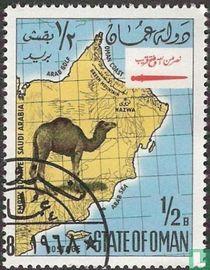 Map of Oman
