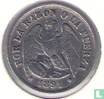 Chili 1 decimo 1891