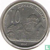 Servië 10 dinara 2006