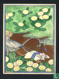 Cramer Rie -1977-original gouache illustration for children's books 1887.