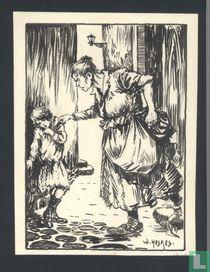 De Lantaarnopsteker (illustration)