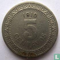 Mexico 5 centavos 1910