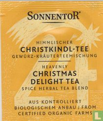 24 Himmlischer CHRISTKINDL-TEE Gewürz-Kräuterteemischung | Heavenly CHRISTMAS DELIGHT TEA Spice Herbal Tea Blend