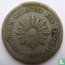 Uruguay 2 centésimos 1909