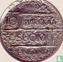 """Finland 10 markkaa 1970 """"100th anniversary Birth of President Juho Kusti Paasikivi"""""""
