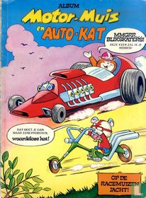 Motor-muis en Auto-kat op de racemuizenjacht!