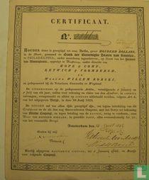 Certificaat van Hope & Company