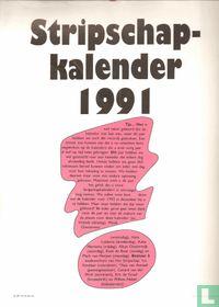 Stripschapkalender 1991