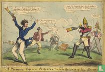 A Premier Pop at a Protestant; or, The Battersea-fields Heroes