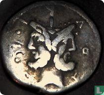 Romeinse Republiek, AR Denarius, 119 BC, M. Furius en L.F. Philus, Rome