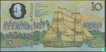 Australië 10 Dollars ND (1988)