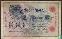 Reichsbank, 100 Mark 1898