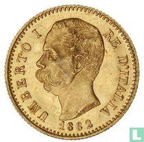 Italië 20 lire 1882 (goud)
