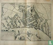 Hic est situs Eppidi Grauia cum `s Excellentia de Nassou occu; paretur Anno 1602. Septembris 2.