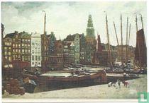 """""""Het Damrak te Amsterdam"""""""