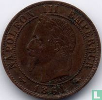 Frankrijk 1 centime 1861 (A)