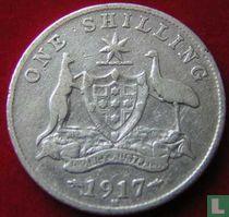 Australien 1 Shilling 1917
