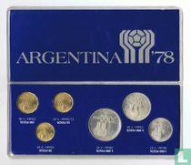 "Argentinië jaarset 1977 ""1978 Football World Cup in Argentina"""