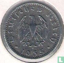 Duitse Rijk 50 reichspfennig 1935 (aluminium - E)