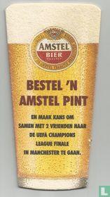 bestel 'n Amstel pint