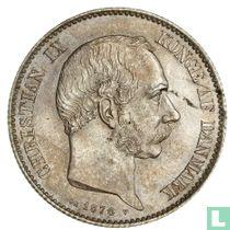 Denemarken 2 kroner 1876