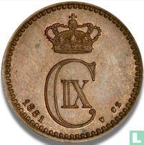 Denemarken 1 øre 1881