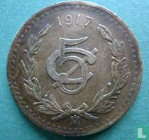 Mexico 5 centavos 1917