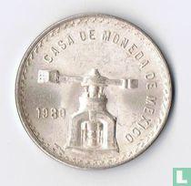 Mexico 1 onza plata 1980