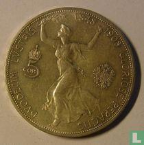 "Austria 5 corona 1908 ""60th anniversary Reign of Franz Joseph I"""