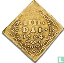 Denemarken 4 speciedaler 1604