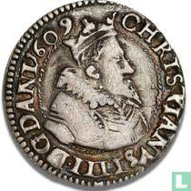 Denemarken 8 skilling 1609 (Klaverblad)