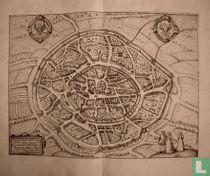 AQUISGRANUM Vulgo Aich Per antiqua Imperij urbs , monumento Caroli Magni, Thermar prestantia et Memorablis.