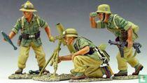 German Mortar Set