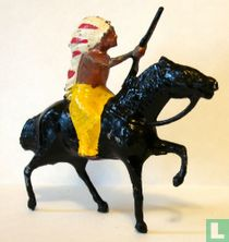 Indian on horseback