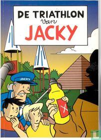 De triathlon van Jacky