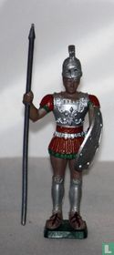 Hoplite with spear