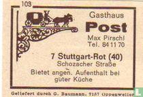 Gasthaus Post - Max Pirschl