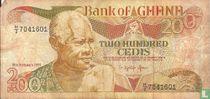 Ghana 200 Cedis 1991