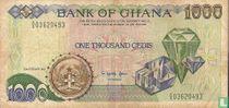Ghana 1.000 Cedis 1991