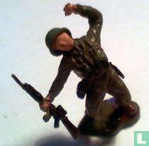 British Infantryman.