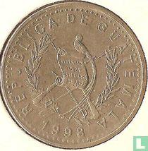 Guatemala 25 centavos 1998