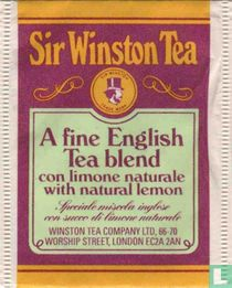 A Fine English Tea Blend