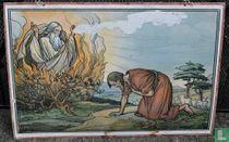Mozes en het Brandend Braambos
