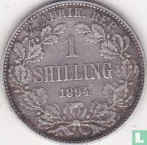 Afrique du Sud 1 shilling 1894