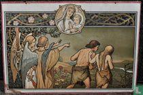 Adam en Eva verdreven uit Paradijs