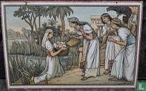 Mozes in het rieten mandje