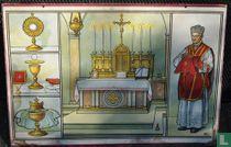 Priester, Altaar en mis-attributen