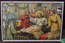 Voetenwassing door Maria Magdalena