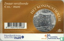 "Netherlands 10 euro 2013 (coincard) ""Coronation of King Willem-Alexander"""