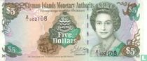 Kaaimaneilanden 5 Dollars